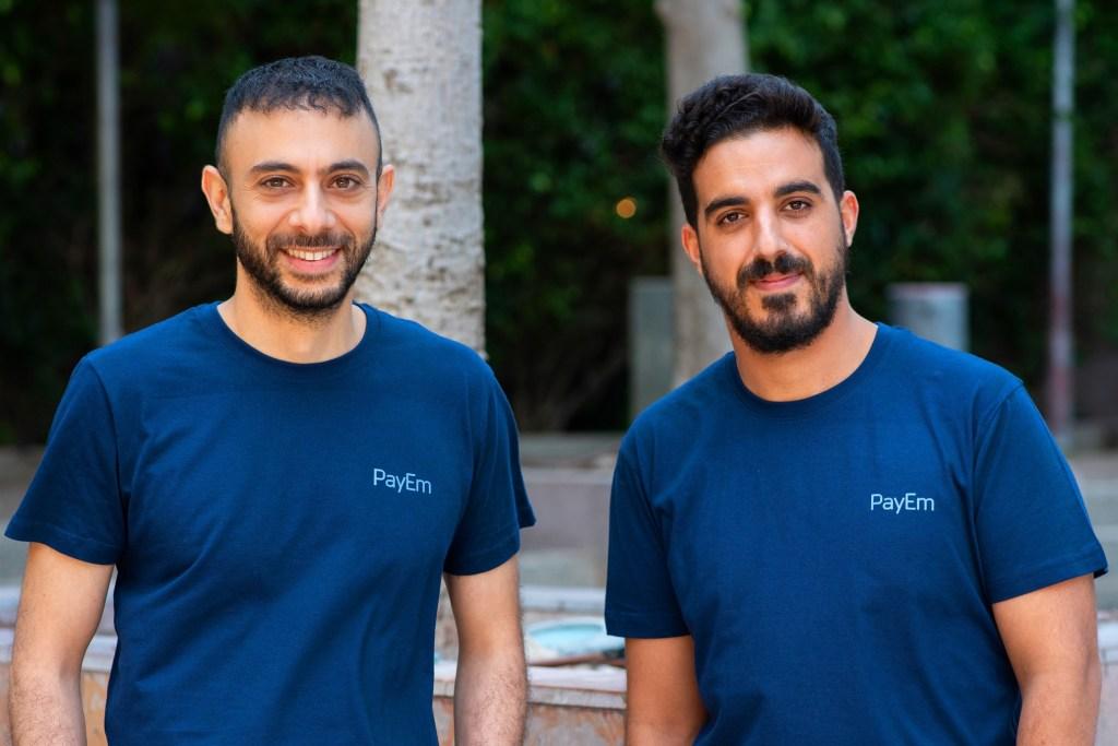 PayEm Co-Founders L-R - Itamar Jobani, Omer Romich. Credit Or Kaplan